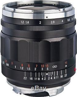 Voigtlander Nokton Aspherical 35mm f/1.2 Lens II Leica M Mount (no box)