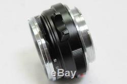 Voigtlander Nokton Classic 35mm F/1.4 S. C VM Lens Leica M Mount JAPAN 952