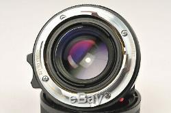 Voigtlander Nokton Classic 35mm f1.4 Lens in Leica M Mount