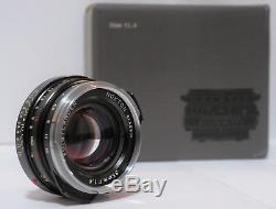 Voigtlander Nokton Classic 35mm f1.4 M. C Lens Leica M-Mount