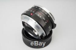 Voigtlander Nokton Classic 35mm f/1.4 f1.4 VM Manual Focus Lens Fr Leica M Mount