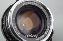 Voigtlander Nokton Classic 40mm f/1.4 f1.4 MC MF Lens, For Leica M VM Mount