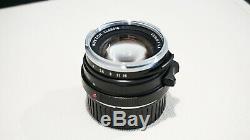 Voigtlander Nokton Classic SC 40mm F1.4 Leica M Mount Lens