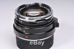 Voigtlander Nokton Classic SC 40mm F1.4 Lens in Leica M Mount