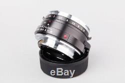 Voigtlander Nokton Classic S. C 40mm f/1.4 f1.4 MF Lens, For Leica M Mount
