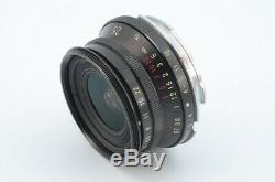 Voigtlander SNAPSHOT SKOPAR 25mm F4 MC for Leica L39 Screw Mount Leica M Adapter