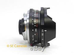 Voigtlander Super Wide Heliar 15mm F4.5 Aspherical Leica M Mount Lens Mint