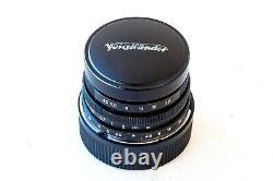 Voigtlander Super Wide-Heliar 15mm F/4.5 Aspherical Lens Leica M Mount adapter