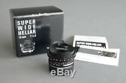 Voigtländer Super Wide Heliar 15mm asphärisch II, F4.5, Leica M Mount