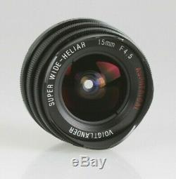 Voigtländer Super Wide-Heliar 4,5/15mm Aspherical (M39 Mount mit Leica-M Adap.)