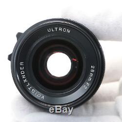 Voigtlander ULTRON 28mm F2 VM (for Leica M mount)
