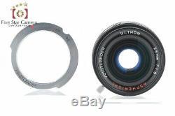 Voigtlander ULTRON 28mm f/1.9 Aspherical Black L39 Leica Screw Mount