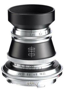 Voigtlander USA WARRANTY Heliar 50mm f/3.5 Leica M Mount Lens for all Leica M