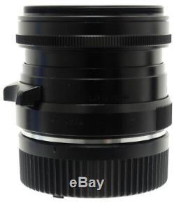 Voigtlander Ultron 28mm F2 Lens. Hood For Leica M Mount