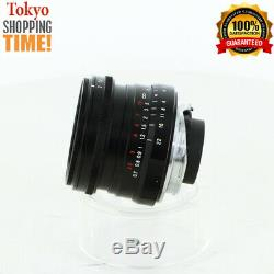 Voigtlander Ultron 28mm F/2 for Leica M-Mount Lens from Japan