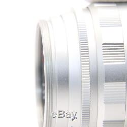 Voigtlander Ultron 35mm F1.7 Aspherical (for Leica L mount) Silver