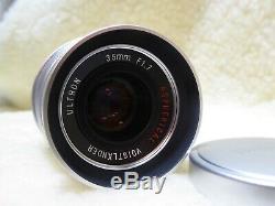 Voigtlander Ultron 35mm f1.7 Aspherical Vintage Line Silver Leica M Mount