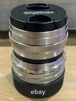 Voigtlander Ultron 35mm f/1.7 Aspherical Chrome Leica M Mount
