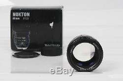 Voigtlander VM Nokton 50mm f1.1 Lens 50/1.1 Leica M Mount #082