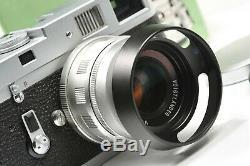 Voigtlander lens 35mm / f1.7 ULTRON aspherical Leica, Bessa rangefinders M mount