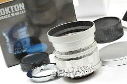 Voigtlander lens 50mm/ f1.5 NOKTON LTM, with M mount adapter for Leica, Bessa