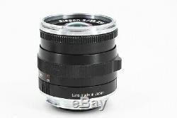 ZEISS Biogon T 35mm f/2 MF ZM Lens For Leica (Black) M-Mount (summicron)