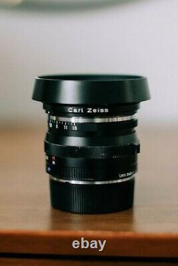ZEISS C Sonnar T 50mm 1.5 ZM Lens for Leica M Mount Zeiss Lens Hood + B+W UV