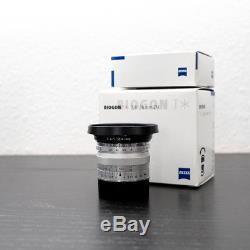 Zeiss 28mm F2.8 ZM Leica M-Mount lens & Hood for all Leica M Mount BOXED