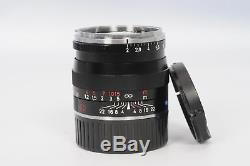 Zeiss 50mm f2 Planar T ZM Leica M Mount Lens 50/2 #751