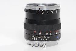 Zeiss 50mm f2 Planar T ZM Leica M Mount Lens 50/2 #815