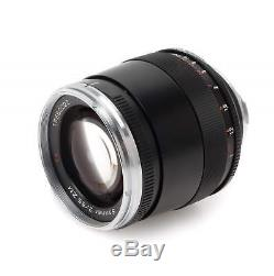 Zeiss 85mm f2 Sonnar ZM (Germany) Leica M Mount Lens Boxed