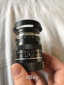 Zeiss Biogon 35mm F2 Leica Mount