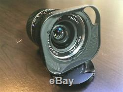Zeiss Biogon T 28mm f/2.8 ZM for Leica M Mount Black with Hood Near Mint