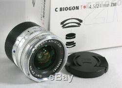 Zeiss C Biogon T 21mm/f4.5 ZM (Leica M-mount)
