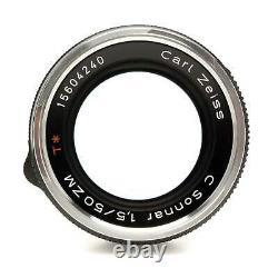 Zeiss ZM 50mm f1.5 Sonnar C Leica M Mount Lens Boxed